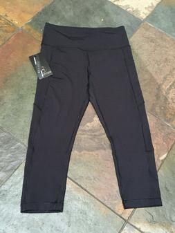 0920 90 Degree By Reflex Large Legging Hi Waist Capri W Pock
