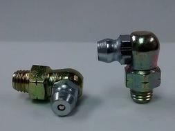 1/4-28 Thread Forming 90 Degree Angle Grease Zerk Nipple Fit