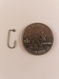 100- EAGLE CLAW 570 BRONZE 90 DEGREE JIG HOOK SIZE #10