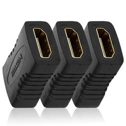 2/3/5xHDMI Female to Female F/F Coupler Extender Adapter Con