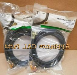 2-pack 6 ft 72 800 Washing Machine Connector Hose 788164 90