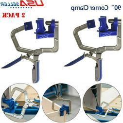 2x 90 degree right angle corner clamp
