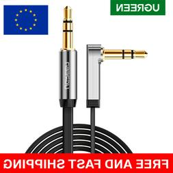 UGREEN 3,5mm Stereo Jack Cable 90 Degree Right Angle Audio A