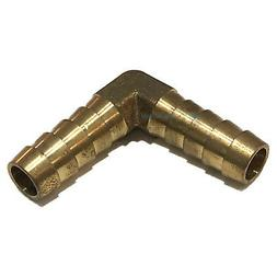 3/8  HOSE BARB ELBOW 90 DEGREE Brass Pipe Fitting UNION Gas