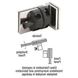 316 Polished Stainless 90 Degree Glass-to-Glass Gate Latch