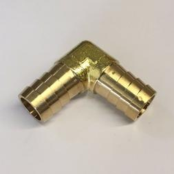 "#38, 5/8"" x 5/8"" Barbed Brass Hose Fitting Adaptor Mendor -"