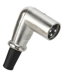 3p 3 pin xlr male plug right