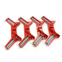 40x 90 Degree Right Angle Clip Clamps Corner Holder Woodwork