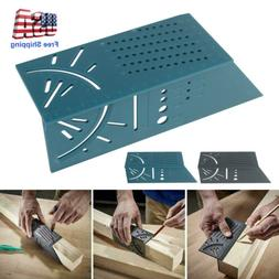 45/90 Degree 3D Mitre Square Angle Measuring Woodworking Too
