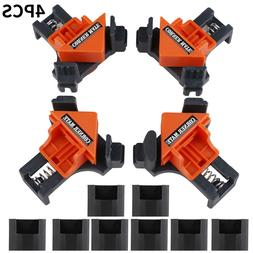 4Pc /Kit 90 Degree Right Angle Clip Clamps Corner Holder Woo