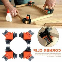 4PCS 90 Degree Right Angle Clamp Holder Picture Frame Woodwo