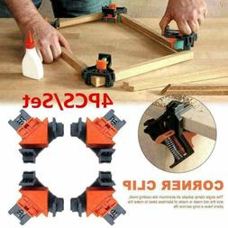 4pcs carpenter 90degree right angle corner clip