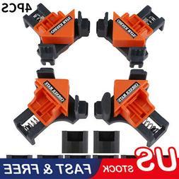 4PCS/Set 90 Degree Right Angle Clip Clamps Corner Holder Woo