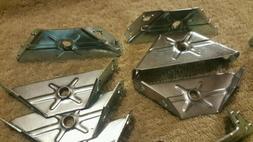 Solid Metal 90 degree Angled Corner Brace Support Brackets