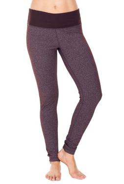 $88 WOMEN's 90 DEGREE BY REFLEX Active Yoga LEGGINGS XS Heat