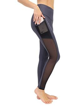 90 Degree Gy Reflex Women's High Waist Athletic Leggings w