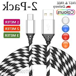 3FT 6FT Fast Charge Type C Cable Rapid Power Cord Charger US