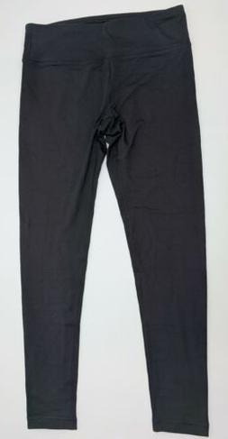 90 Degree by Reflex Athletic Legging Women Size Large Black