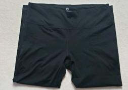 90 Degree By Reflex Black Yoga Capri Leggings Size XL NWOT