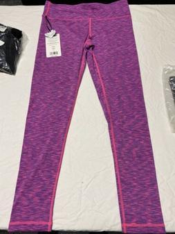 90 Degree By Reflex Fleece Lined Leggings Yoga Pants Retro S