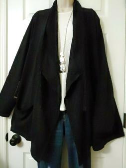 90 Degree by Reflex NWT $98 Pockets Open Long Stretch Jacket