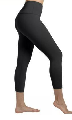 90 Degree By Reflex Power Flex Capri Leggings Women's Size