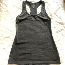 90 Degree By Reflex Power Flex Racerback Tank Top Charcoal H