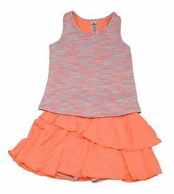90° Degree By Reflex Baby Girls Size 2T Tank/Skort 2-Pcs Se