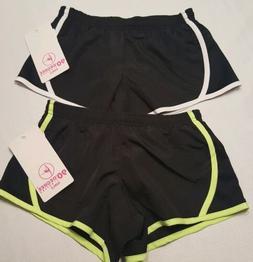 90 degree by reflex girls athletic shorts Kids size 7-8 2pc