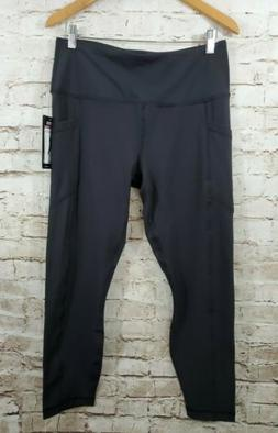 90 Degree By Reflex Womens Power Flex Yoga Pants Black XL Si