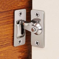 90 Degree Door Clasp Lock Shift Door Lock Button Push Pull B