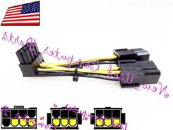 ➨➨➨ 90 Degree Dual 6-Pin to 8-Pin PCI-E High Output Ad
