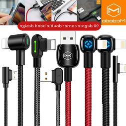 Mcdodo 90 Degree Elbow Lightning SYNC Smart Charging Cable i