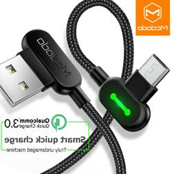 MCDODO 90 degree Fast Charging USB Cable Cable For iPhone, m