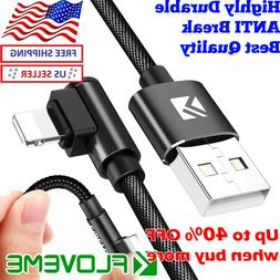90 degree lightning iphone l shape charging