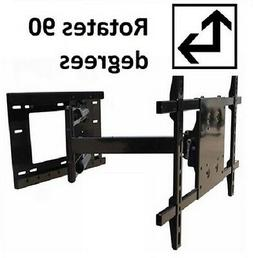 "90 degree Portrait/Landscape Rotation TV wall mount 33"" Exte"
