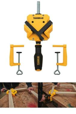 Dewalt 90 Degree Right Angle Corner Clamp Wood Woodworking T