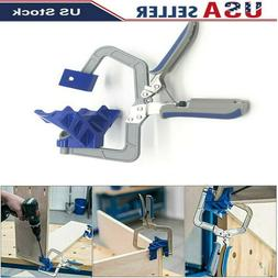90 Degree Right Angle Corner Clamp Woodworking For Kreg Jig