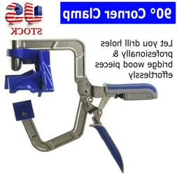 90 Degree Right Angle Corner Clamp Woodworking Wood for Kreg