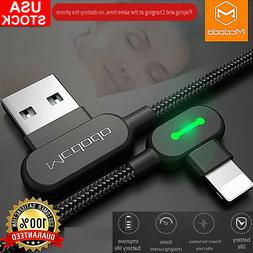 Mcdodo 90 Degree Right Angle Charging Cable Charger For iPho