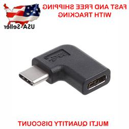 90 Degree Right Angle USB 3.1 Type C Male To Female USB-C Co
