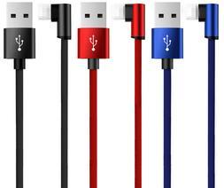 90 degree usb lightning charger charging data