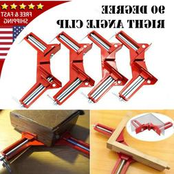 90 Degree Woodworking Right Angle Frame Corner Clamp Clip Ho