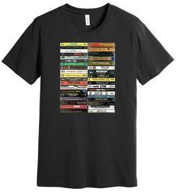 90's Hip-Hop Cassette Tapes - Mix Tapes - 100% Ringspun Cott