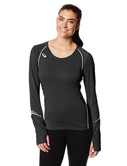 ASICS Lite-Show Favorite Long Sleeve Black - Womens - Size S