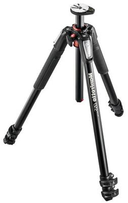 Manfrotto MT055XPRO3 055 Aluminium 3-Section Tripod with Hor