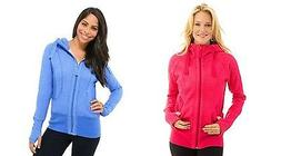 Active Life 90 Degree By Reflex Pink or Blue Hoodie S & M NW