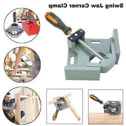 Adjustable 90 Degree Aluminum Alloy Swing Jaw Corner Clamp R
