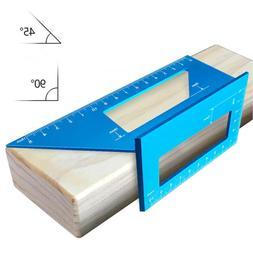 aluminum alloy woodworking scriber t ruler multifunctional