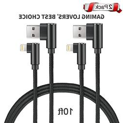 Angled iPhone Lightning Cable,iPhone Charger,iPhone Cable US